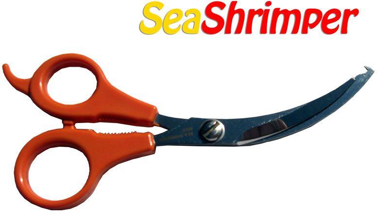 SeaScissors SeaShrimper Shrimp Scissors, Vein and Tail Remover