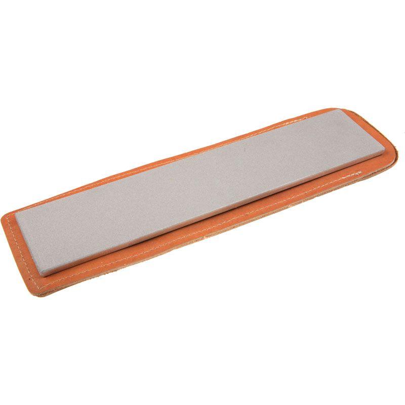 EZE-LAP Fine Stone with Pouch - 2-1/2 inch x 11-3/8 inch Diamond Stone
