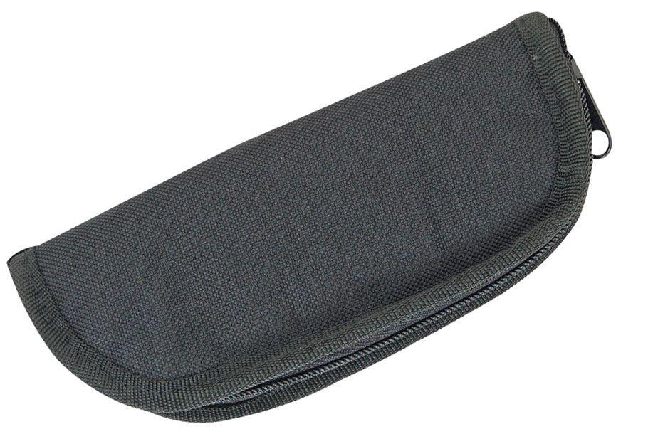 Heavy Cordura Zipper Knife Case Pouch 7 inch, Black