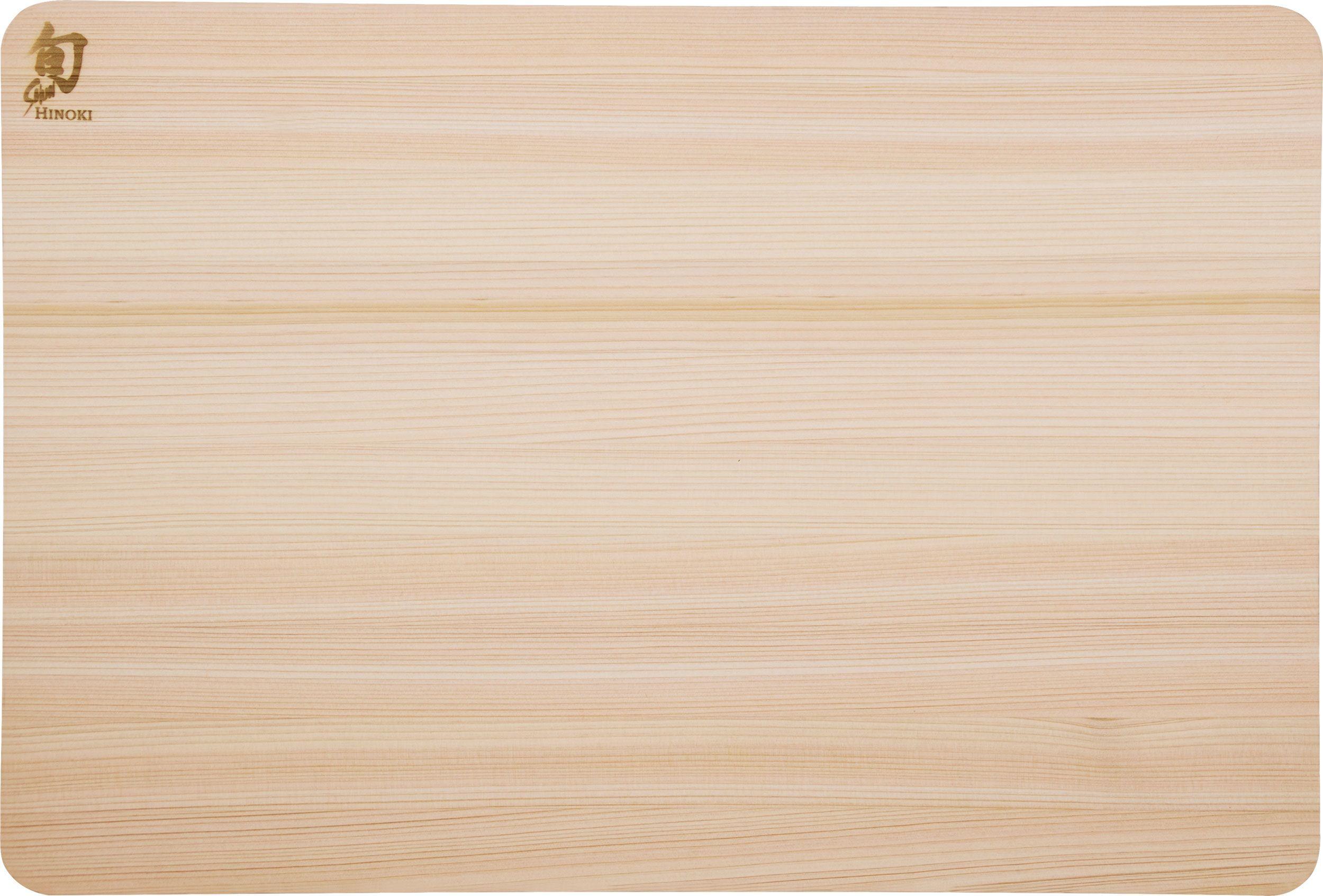 Shun DM0816 Hinoki Cutting Board, Medium, 15.75 inch x 10.75 inch x 0.5 inch
