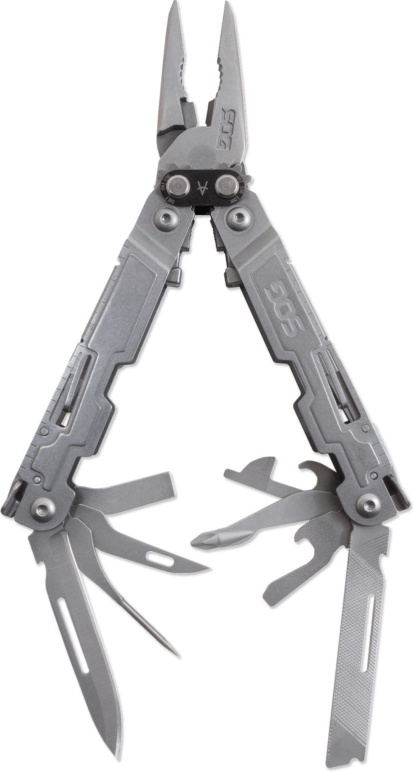 SOG PowerAccess Multi-Tool with 18 Tools, 5.9 inch Overall