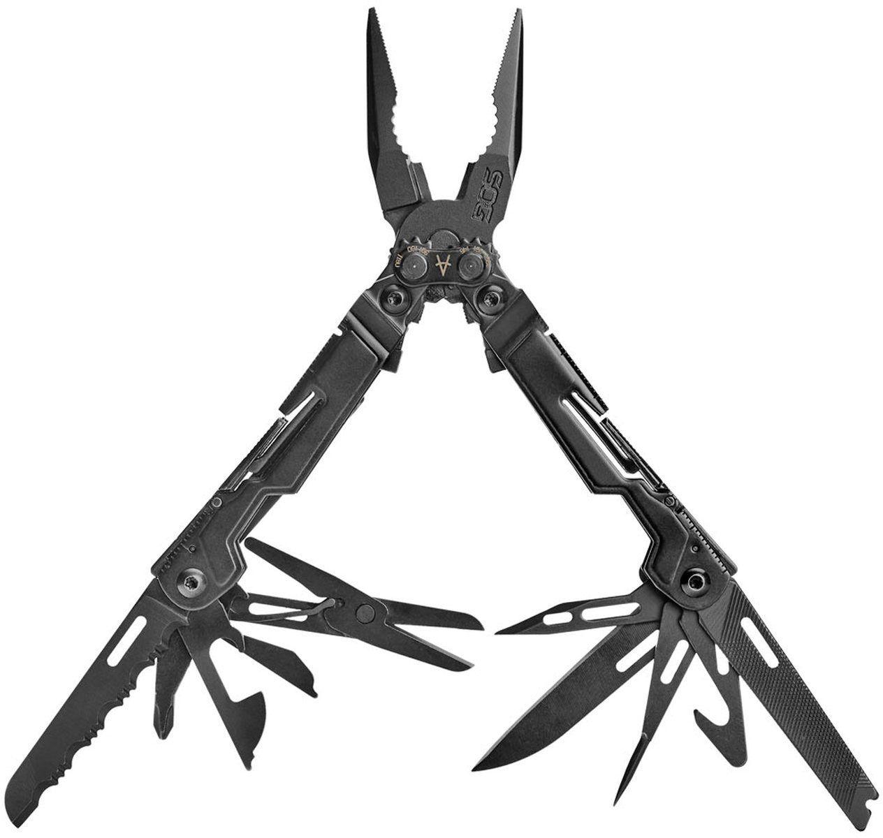 SOG PowerPint Multi-Tool (Black) with 18 Tools