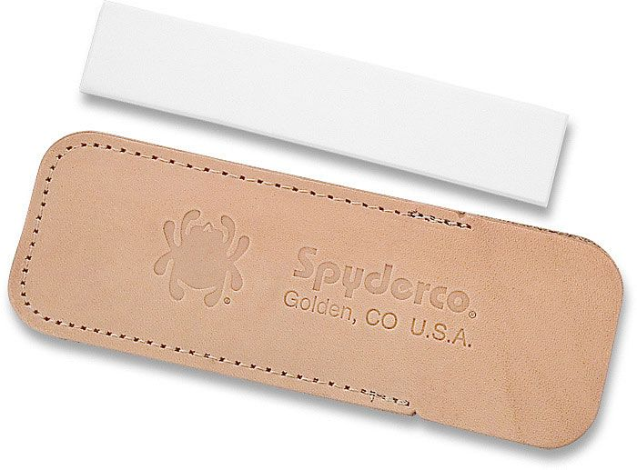 Spyderco Fine Grit Sharpening Stone with Sheath