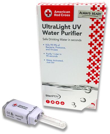 SteriPEN UltraLight UV Water Purifier RCP-MP-E