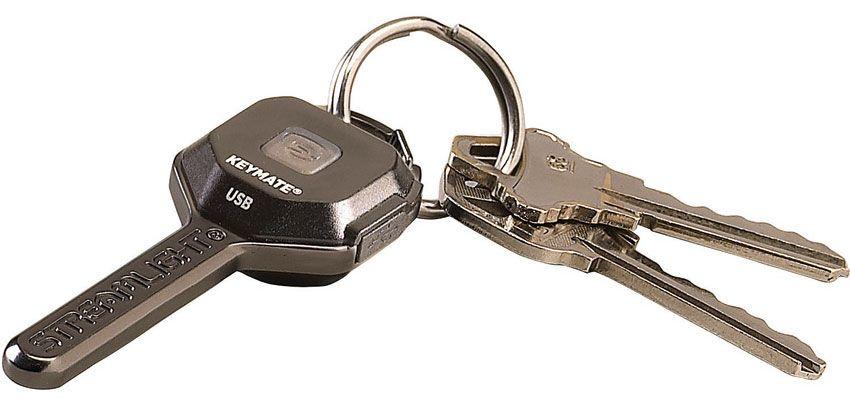 Streamlight Keymate USB Rechargeable LED Keychain Light, 35 Lumens
