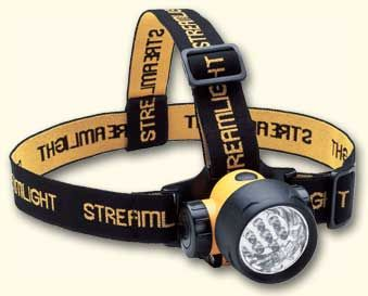 Streamlight Septor HeadLamp with 7 LED Lights