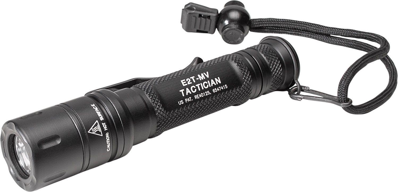 SureFire E2T-MV Tactician Dual-Output MaxVision Beam LED Flashlight, 800 Max Lumens