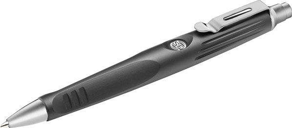 SureFire Pen IV Retractable Ink Tip, Black Body (EWP-04-BK)