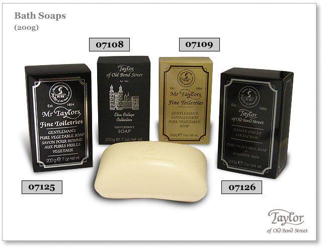 Taylor of Old Bond Street Mr Taylors Gentleman's Sandalwood Pure Vegetable Bath Soap 7 oz (200g)