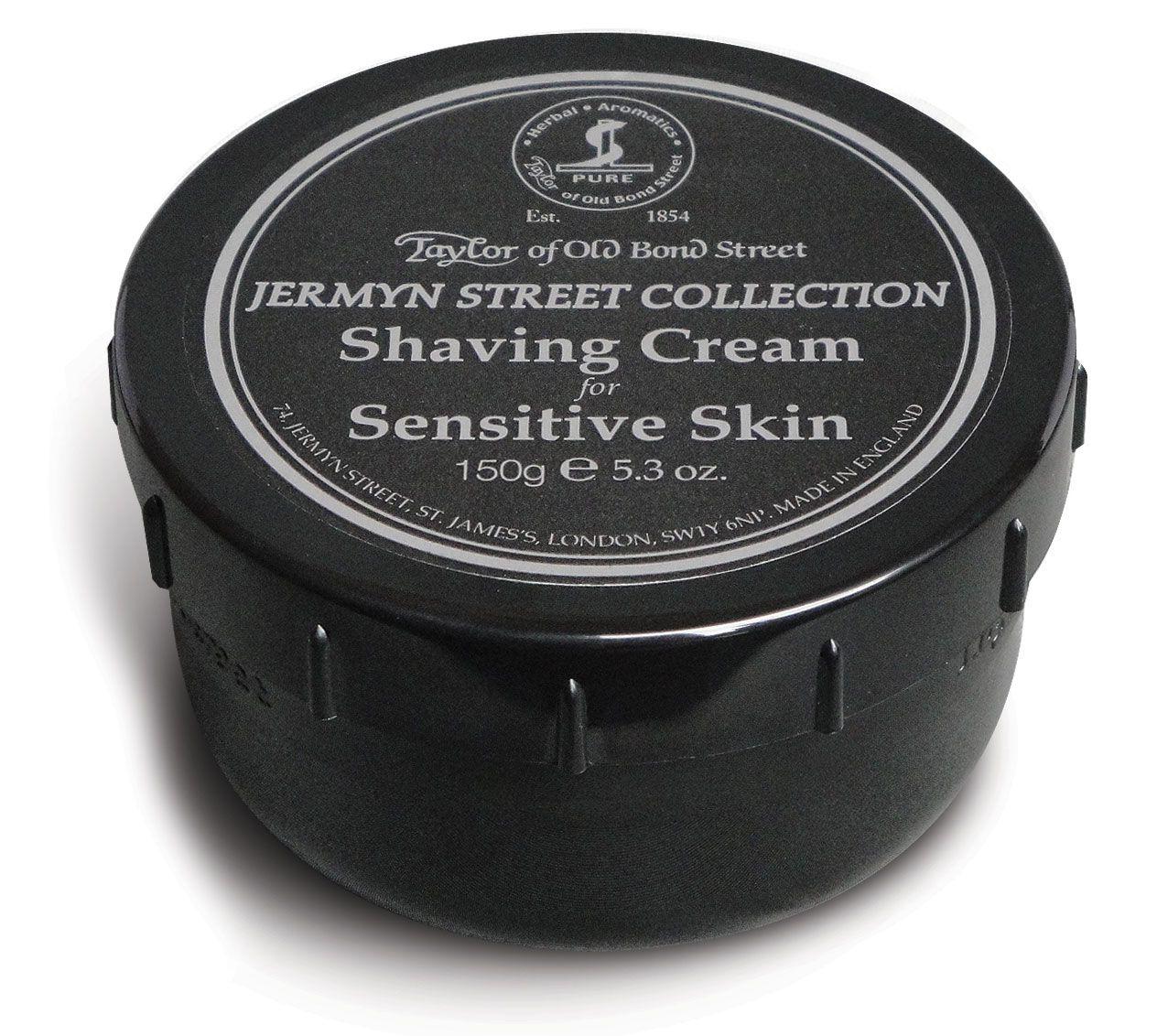 Taylor of Old Bond Street Jermyn Street Collection Shaving Cream for Sensitive Skin 5.3 oz (150g)
