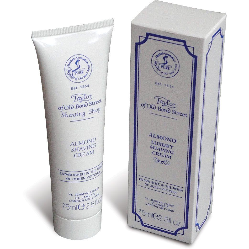 Taylor of Old Bond Street Almond Shaving Cream 2.5 oz (75ml)