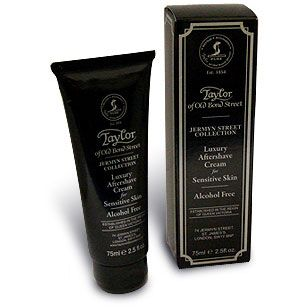 Taylor of Old Bond Street Jermyn Street Collection Luxury Aftershave Cream for Sensitive Skin 2.5 oz (75ml)