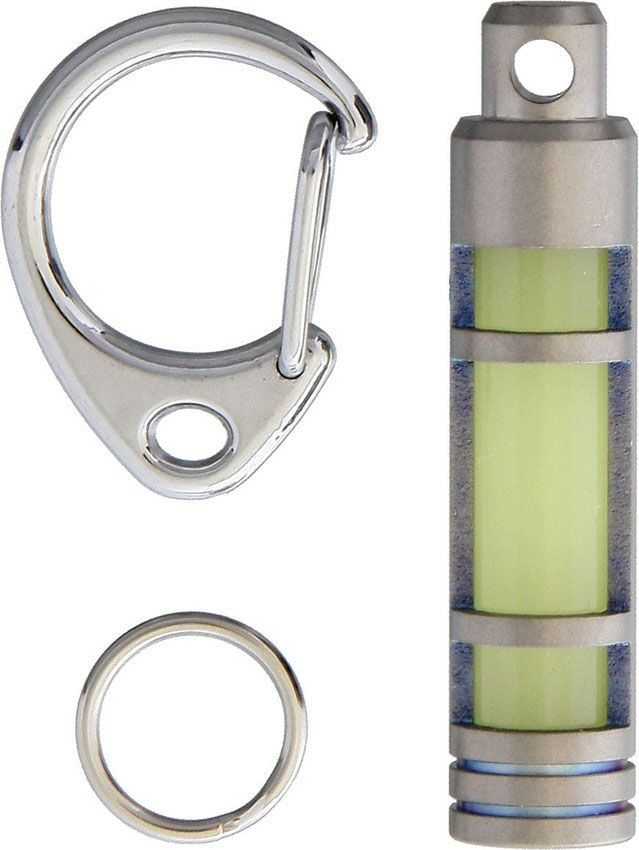 TEC Accessories Embrite T3 Glow Fob, Titanium