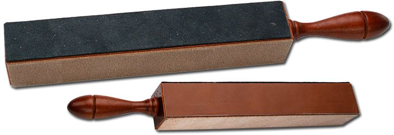 Thiers Issard Model 444 Four-Sided Paddle Straight Razor Strop