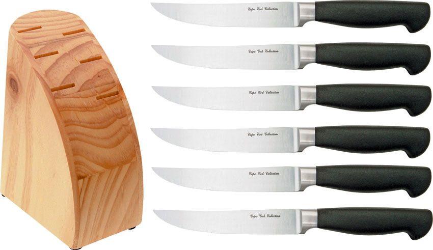 GATCO 7 Piece Forge Steak Knife Set