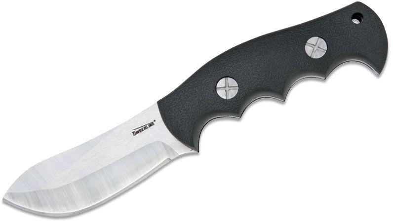 Timberline Russ Kommer Bush Guide Skinner Black Handle 3.5 inch Blade