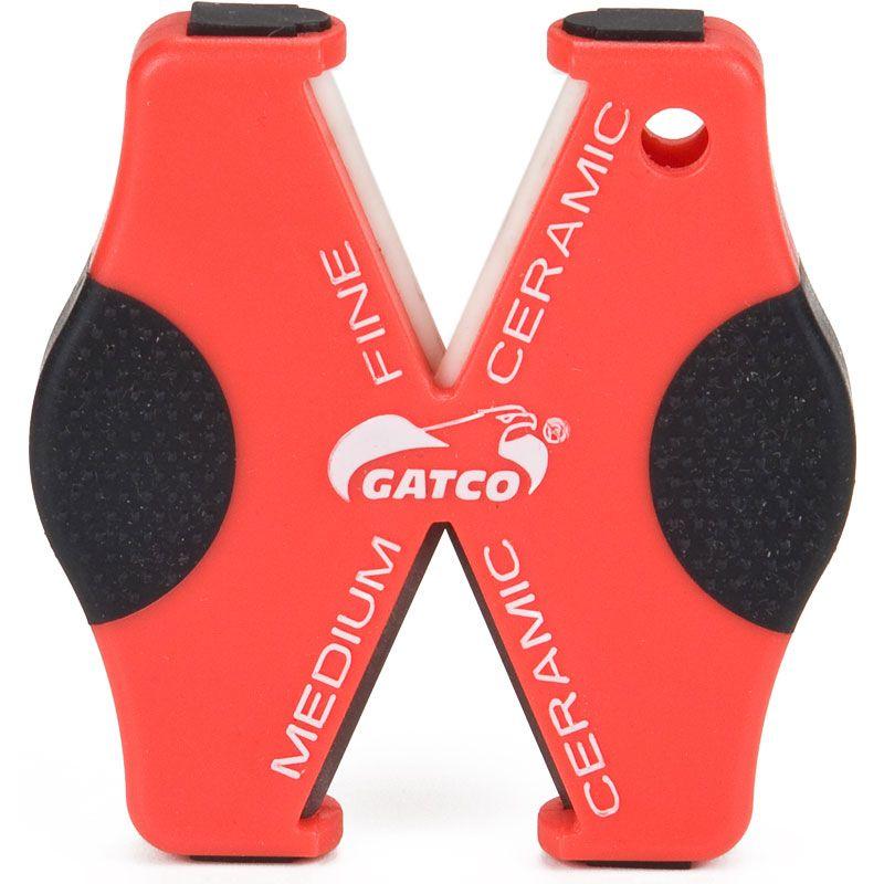 GATCO Super Micro Knife and Serration Sharpener Pocket or Keyring Model