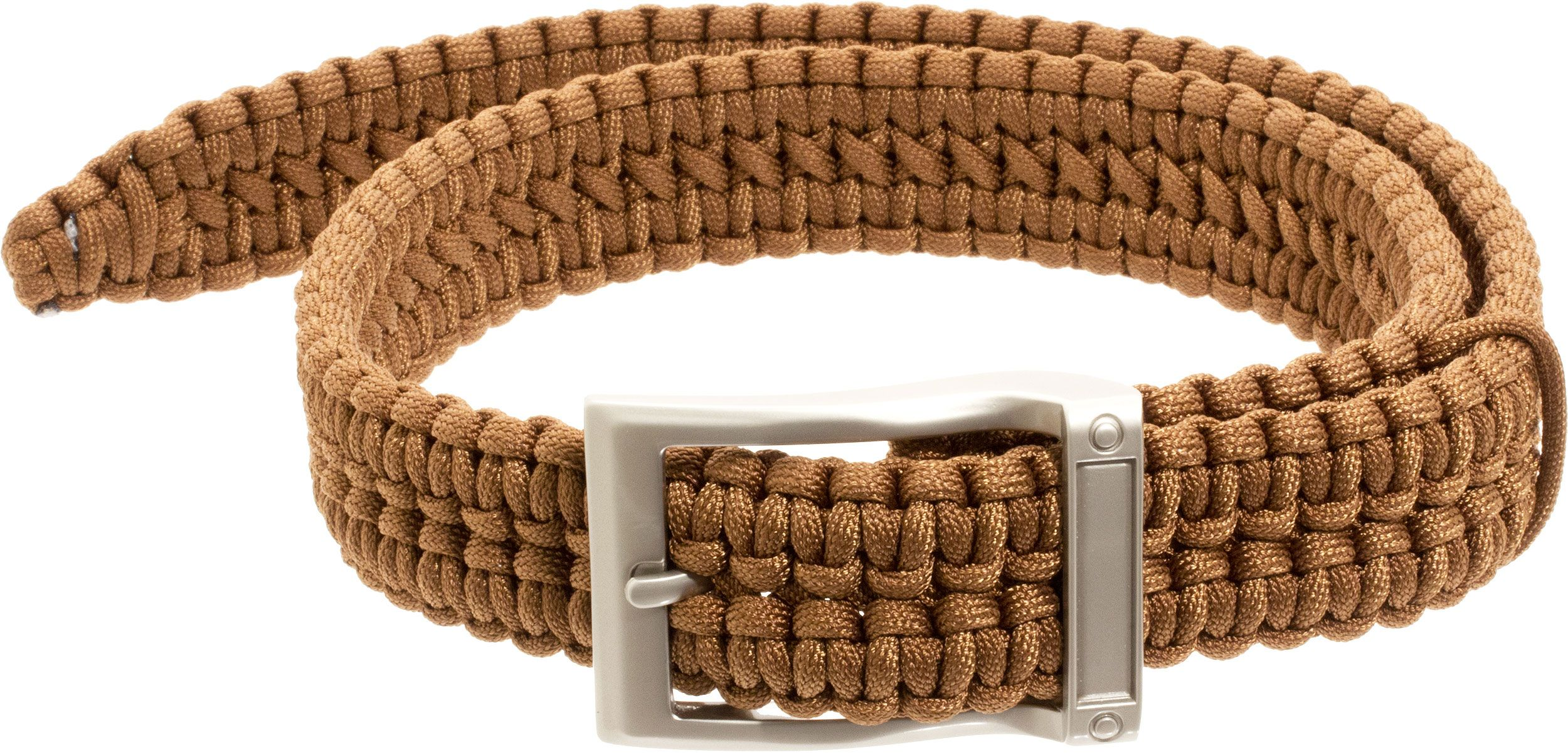 Timberline Paracord Survival Belt, Coyote, Small (5105)