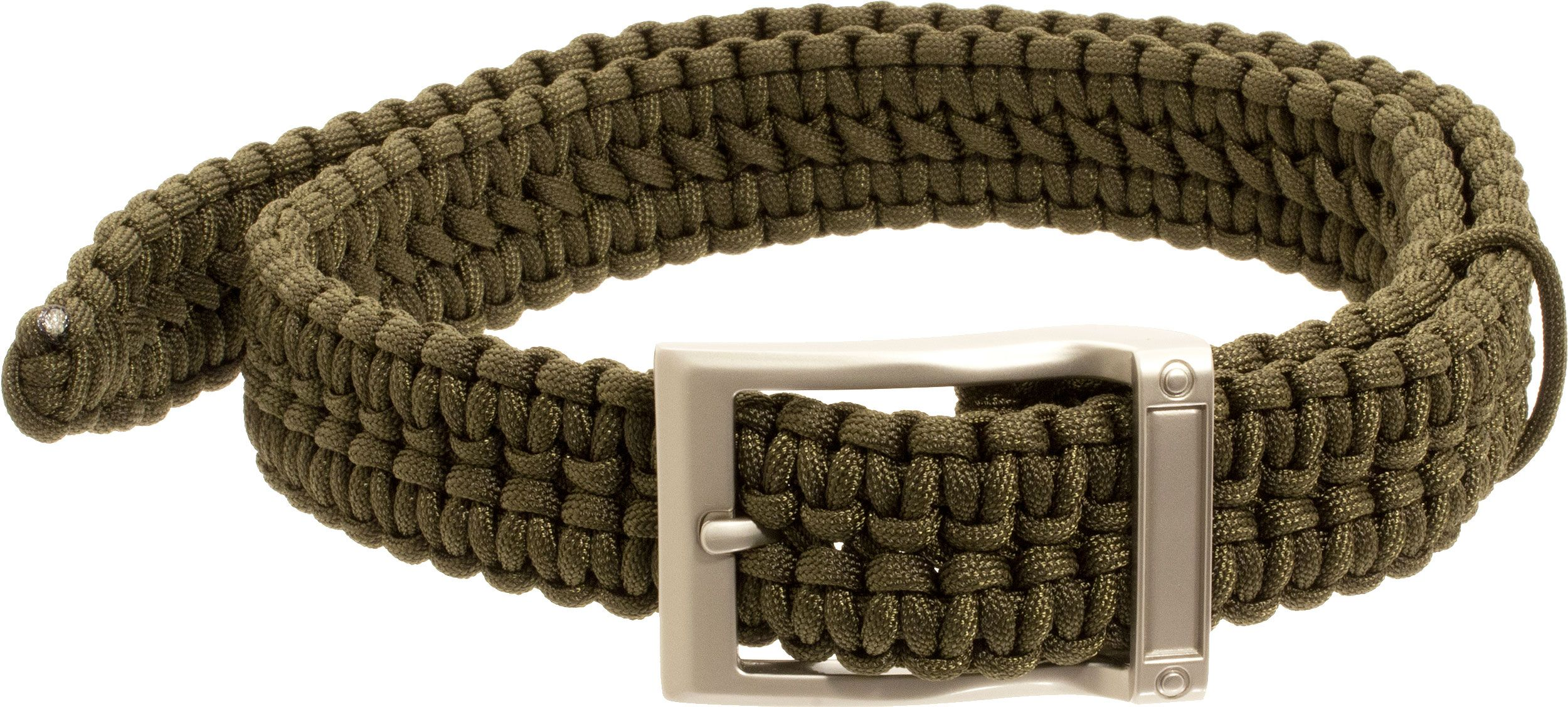 Timberline Paracord Survival Belt, Olive, Small (5109)