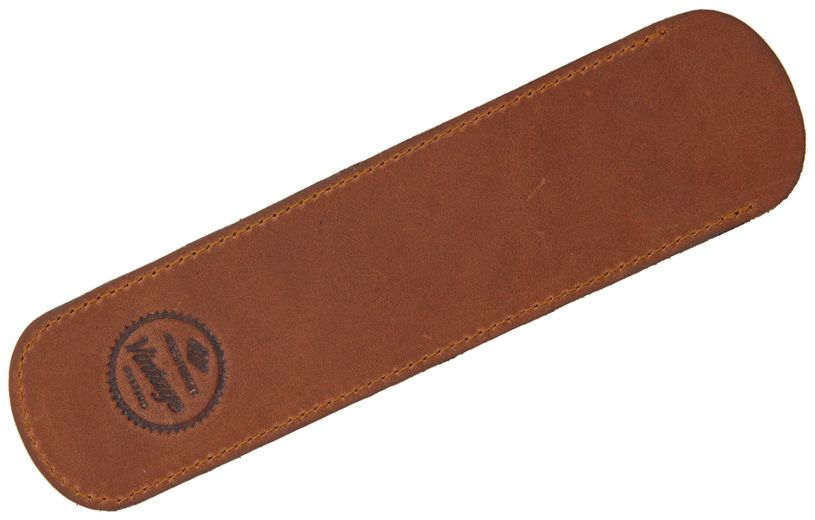 Timor Vintage Safety Razor Leather Sheath 6.75 inch Overall, Brown