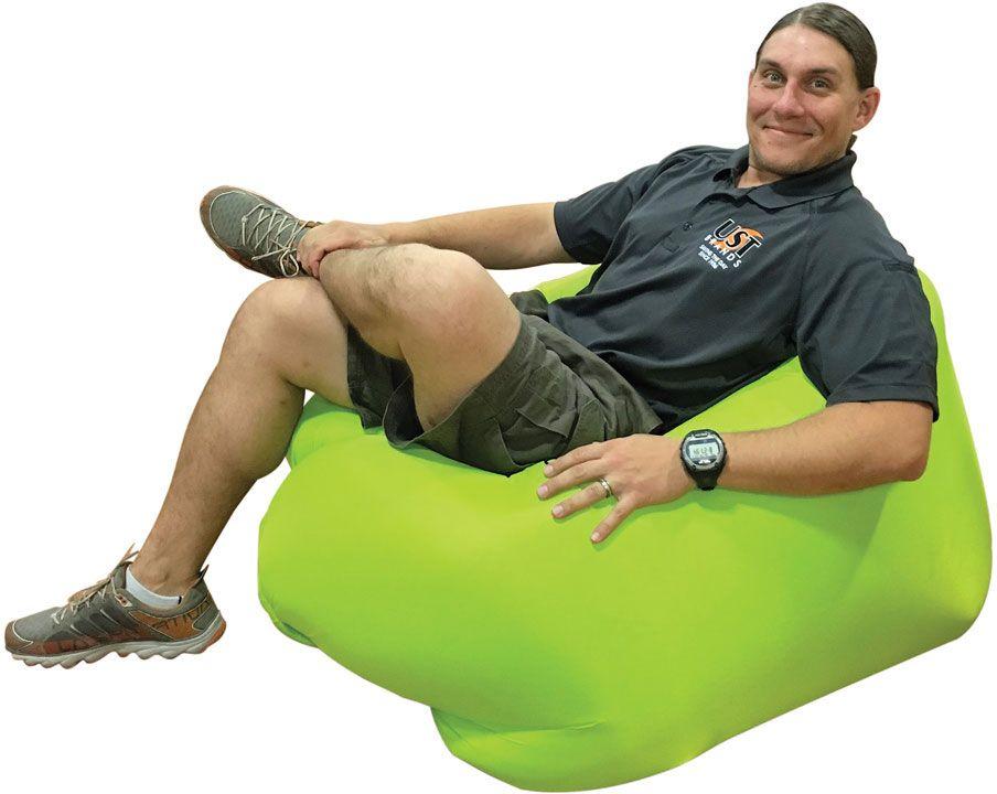 UST Ultimate Survival SlothSak Self-Inflating Chair, Lime