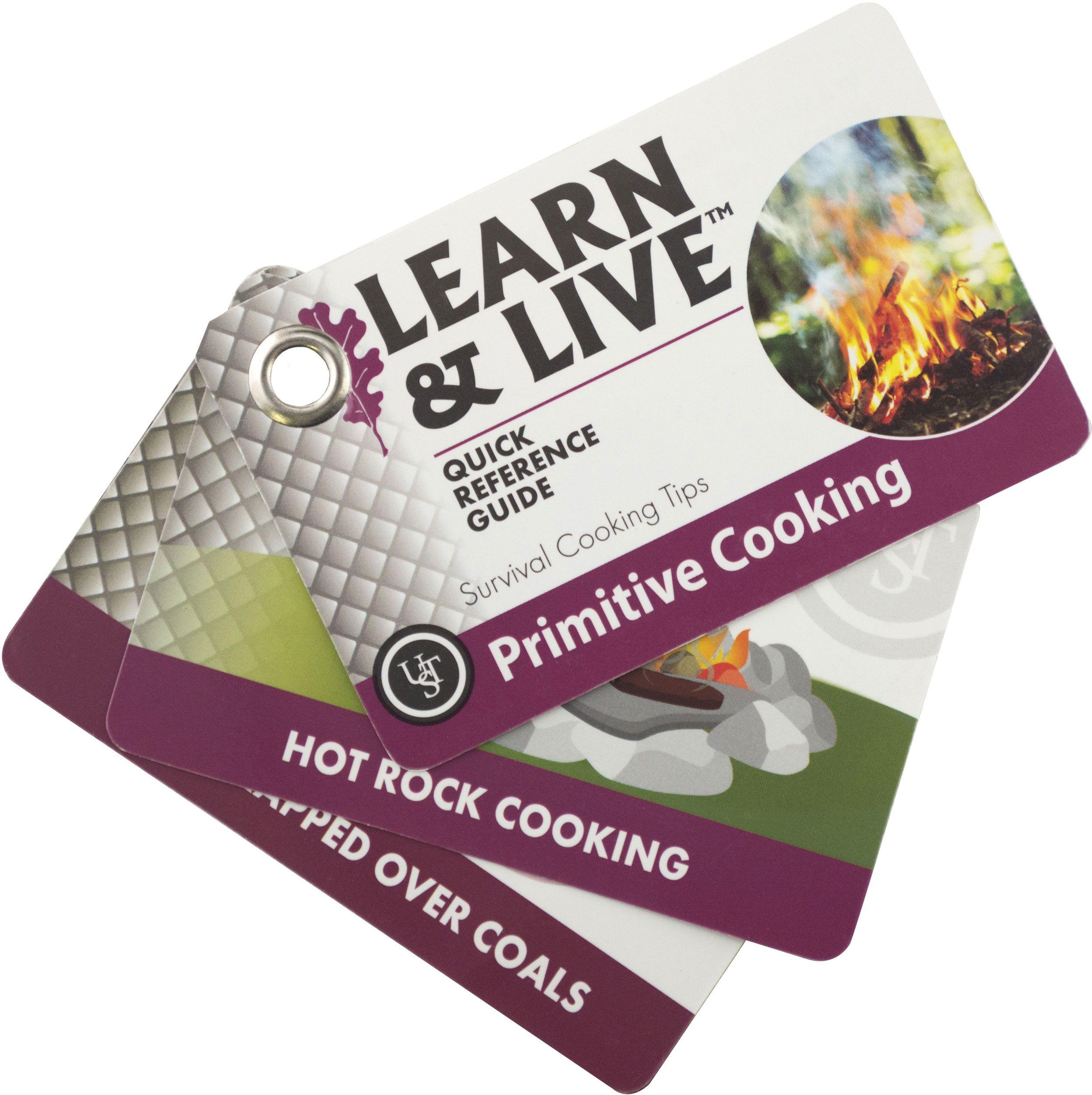 UST Ultimate Survival Learn & Live Primitive Cooking Cards