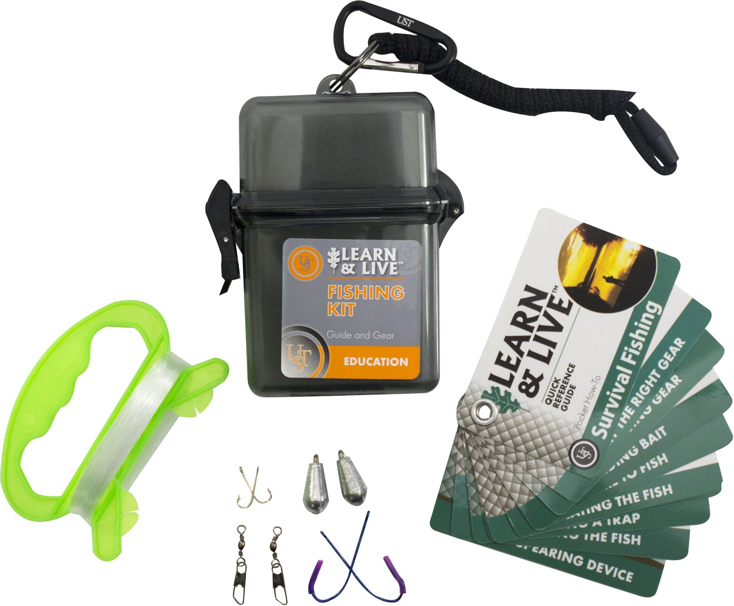 UST Ultimate Survival Learn & Live Survival Fishing Kit