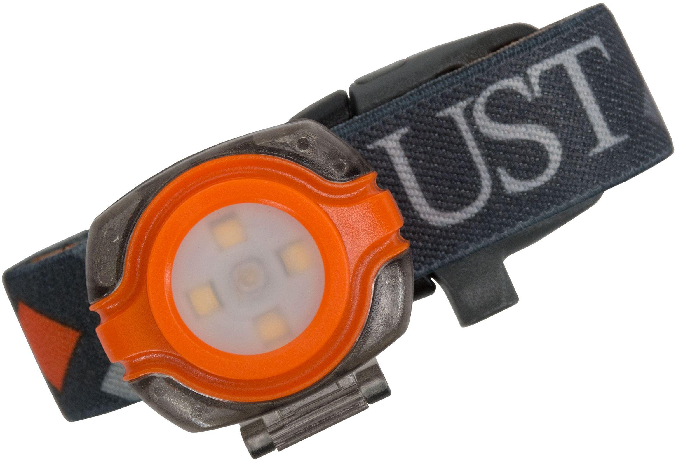 UST Ultimate Survival See-Me LED Headlamp, Orange
