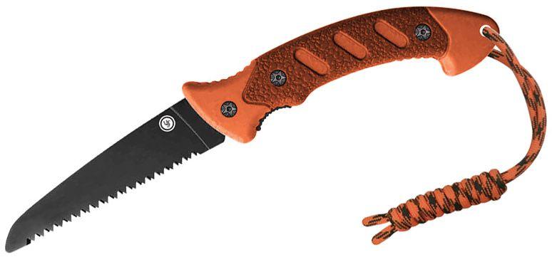 UST Ultimate Survival ParaSaw Pro Folding Saw, ParaTinder, Fire Starter, Whistle, Black Nylon Sheath