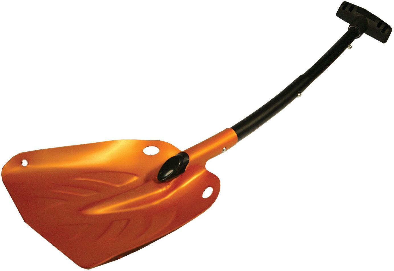 UST Ultimate Survival U-Dig-It Extreme Telescoping Aluminum Shovel, Orange