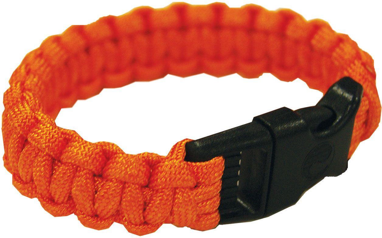 UST Ultimate Survival Paracord Survival Bracelet, Orange