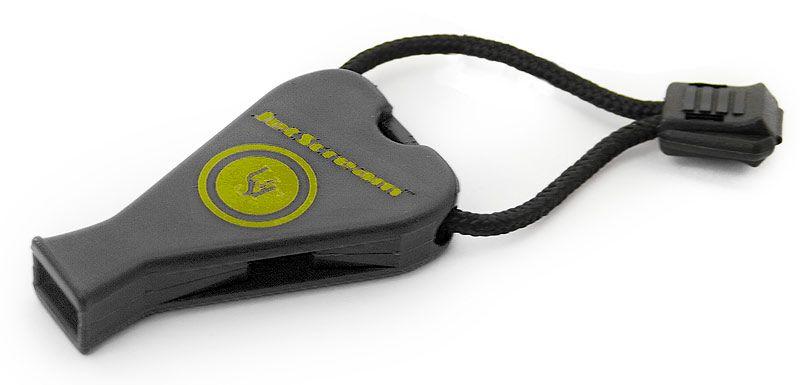 UST Ultimate Survival JetScream Safety Whistle, Black