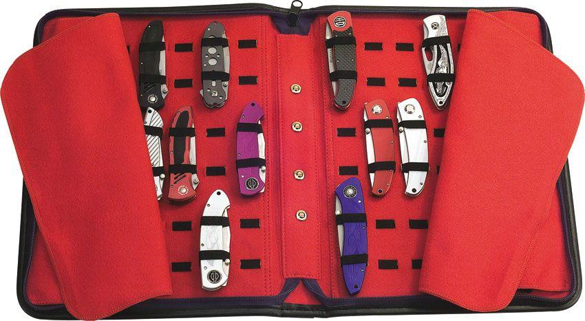 United Cutlery Large Knife Storage Case, Holds Approximately 40 Pocket Knives