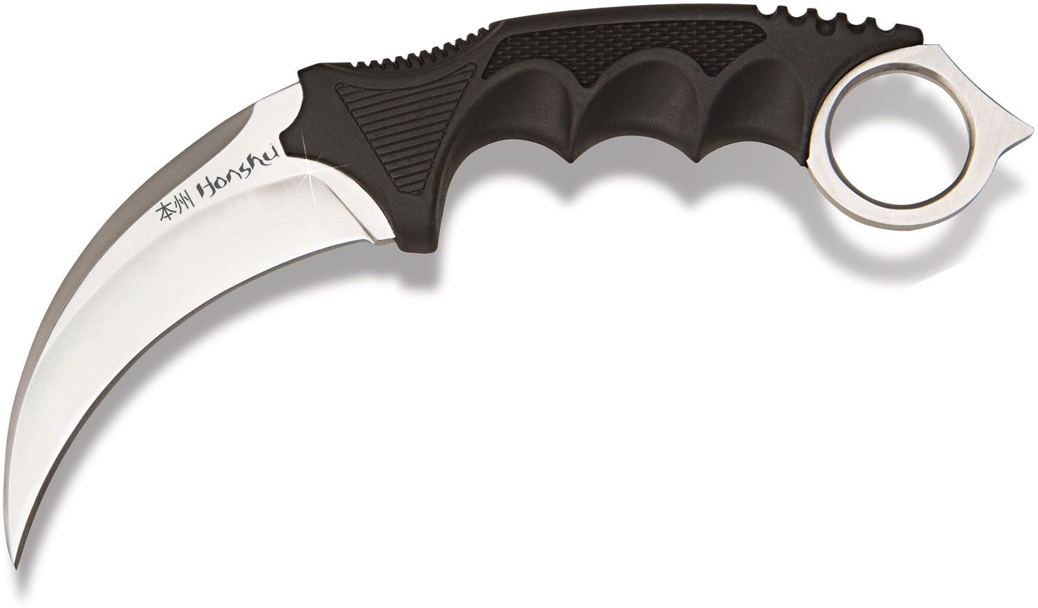 United Cutlery Honshu Karambit 4 inch Satin Blade, Leather Boot Sheath