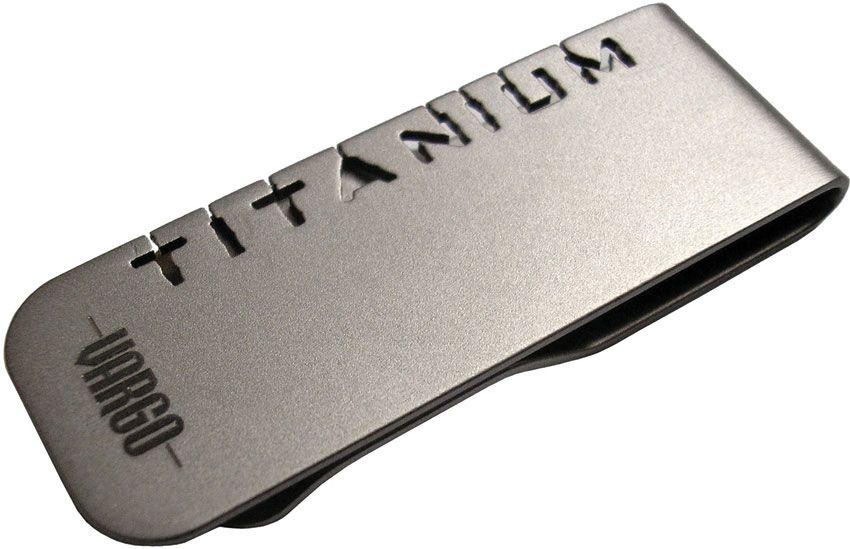 Vargo Titanium Money Clip (T-428)
