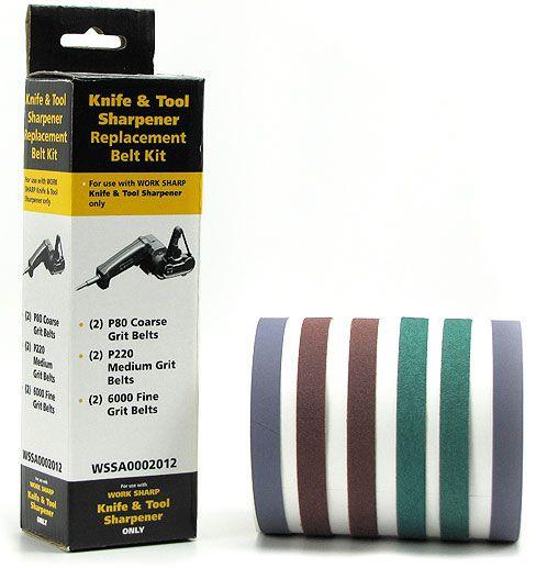 Work Sharp WSSA0002012 WSKTS Assorted Belt Kit