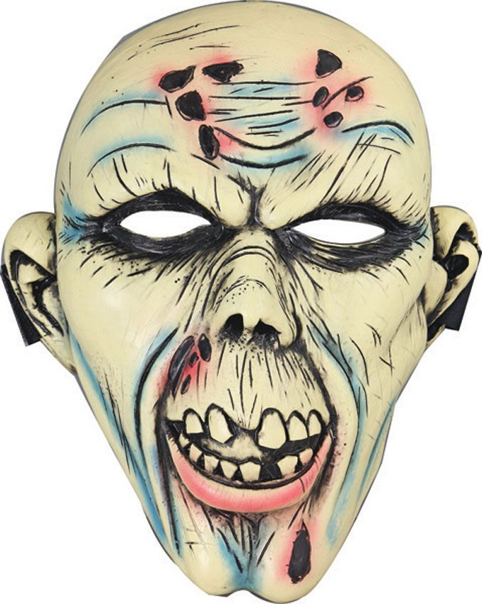 Z-Hunter Zombie Face Halloween Mask