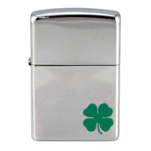 Zippo A Bit 'O' Luck, High Polish Chrome Classic