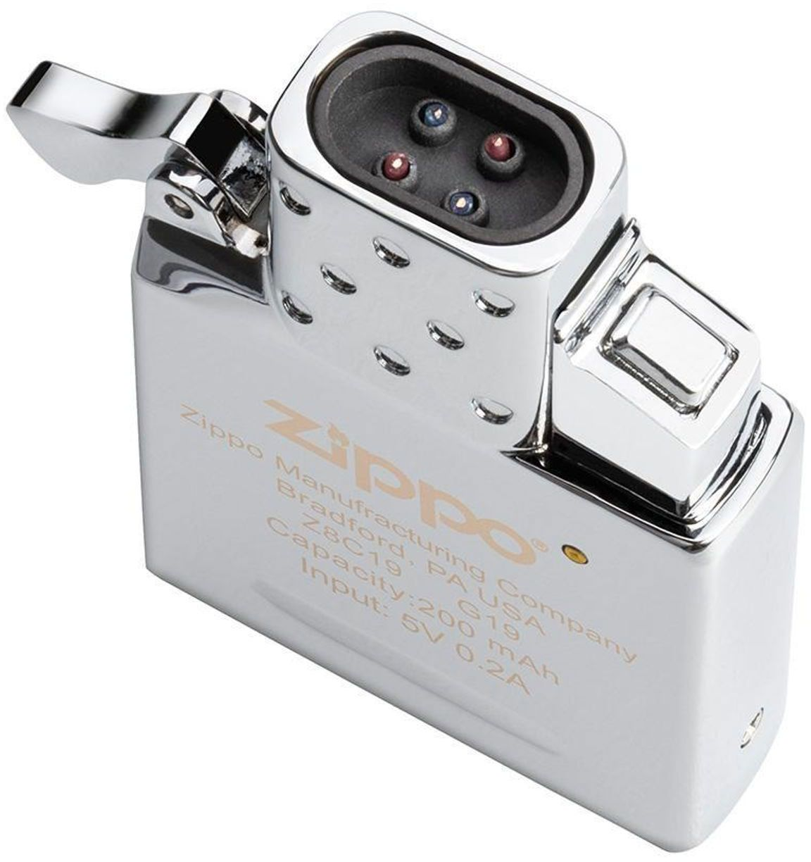 Zippo Double Beam Arc Lighter Insert, Rechargeable